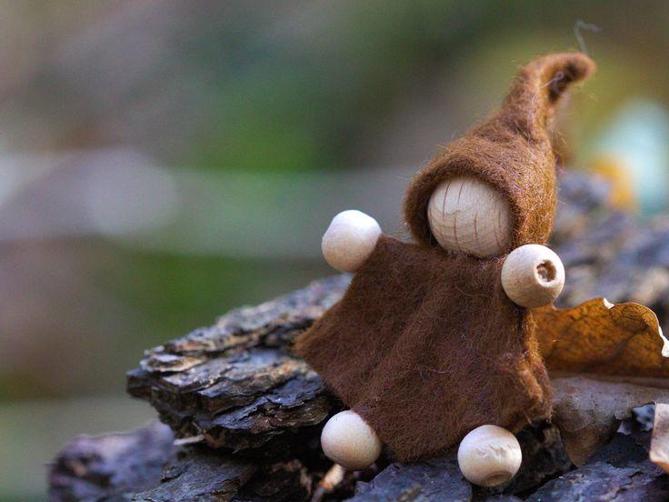 Filzmännchen – ein kleines Weihnachtsgeschenk #Anleitungen #Nähen #Tutorials