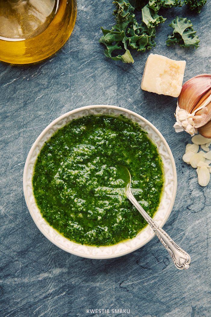 Pesto z jarmużu #Kale