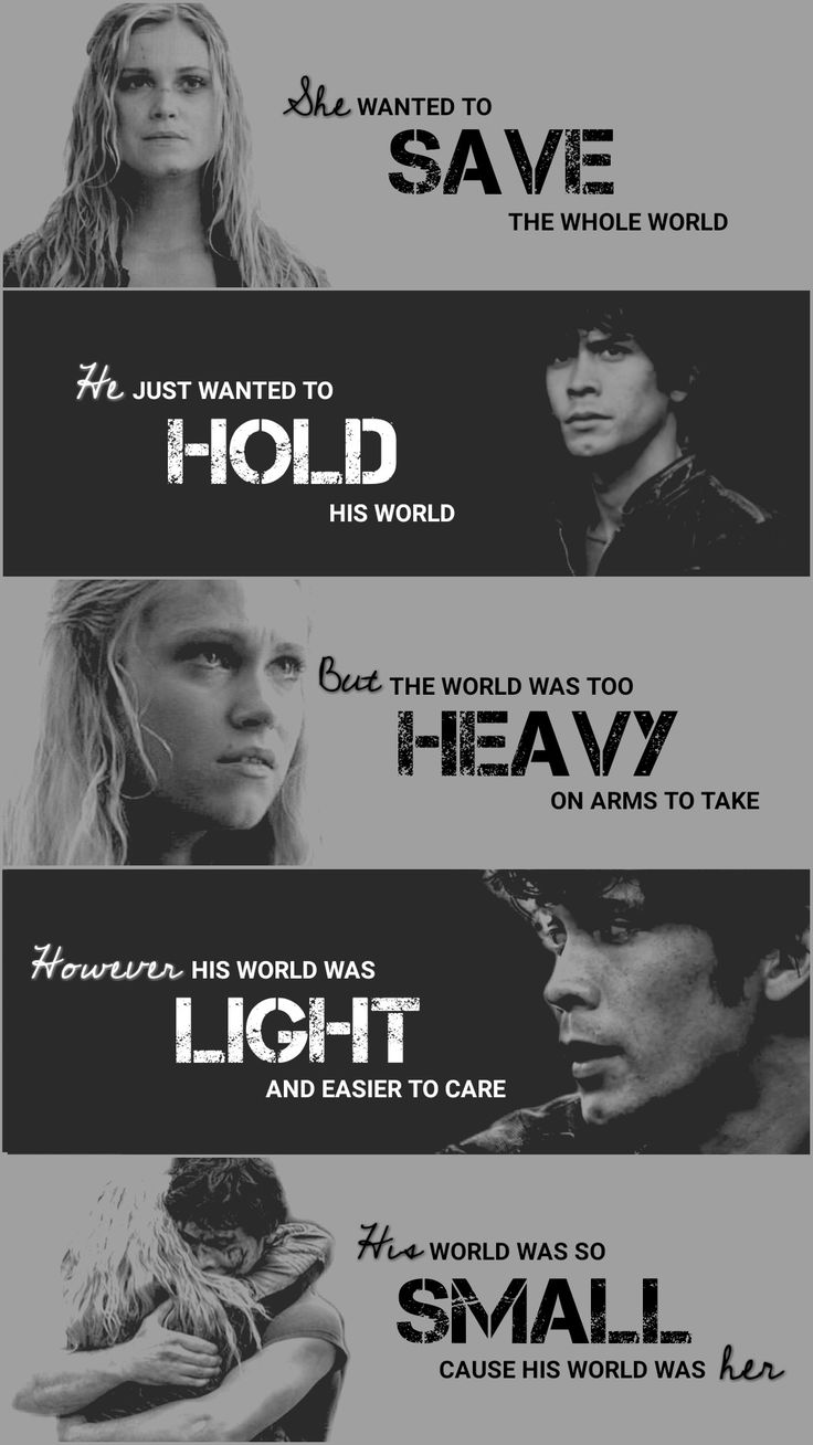 The 100 - Bellamy Blake - Clarke Griffin - Bellarke ️ ...