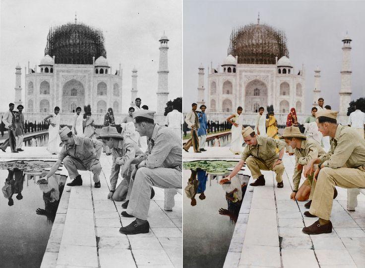 3. The Taj Mahal, India c.1942