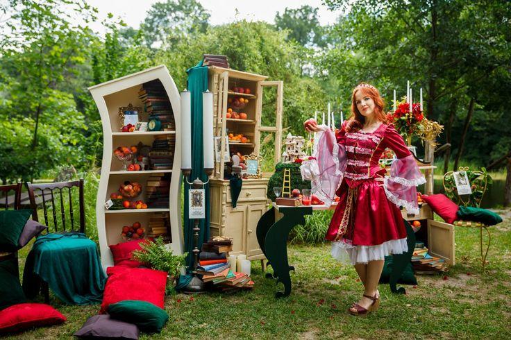 Plarium Darkwoods Party | Event design studio Jennyart, decor, party decoration, fairy tale decoration, decoration, theatre decoration