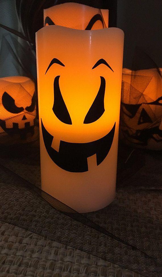 Halloween Flameless Candle-Halloween Candle Decoration-Halloween - how to decorate for halloween party