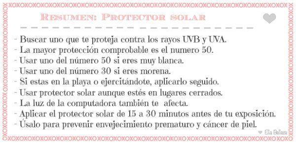 ¿Por qué usar protector solar? ¡Descúbrelo!