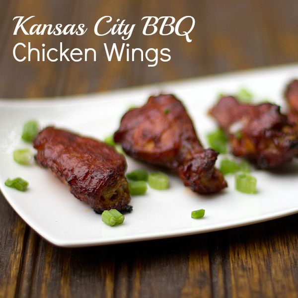 Kansas City BBQ Wings ...and also links to his many other wings' recipes (from rockrecipes)