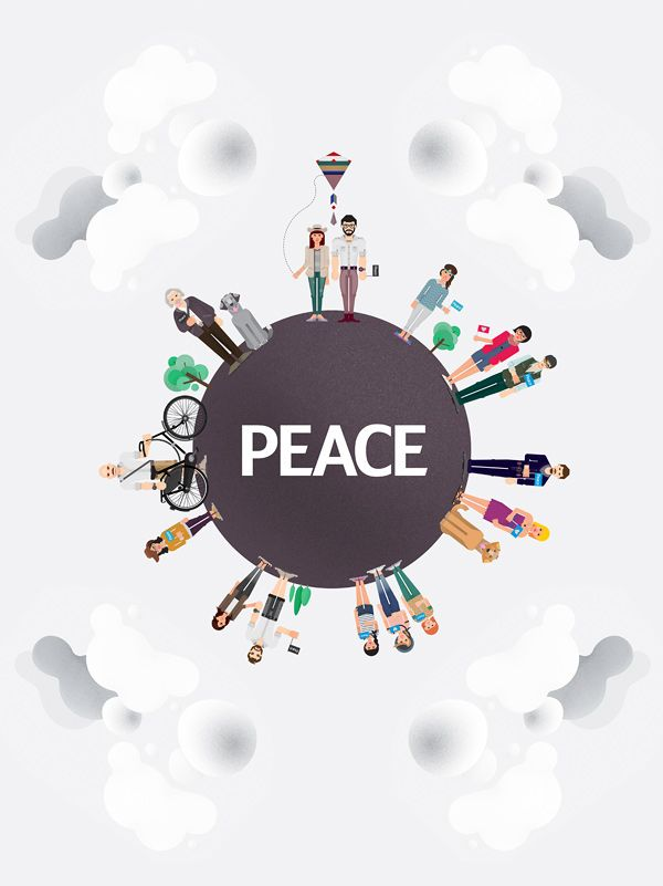 "Graphical set  ""Peace"""