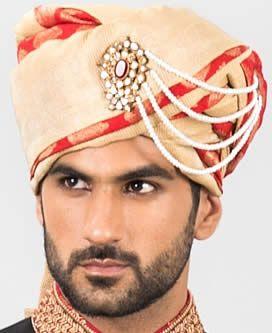 Royal Look Turban for Modern Groom laguna hills California CA USA Pakistani Groom Turbans