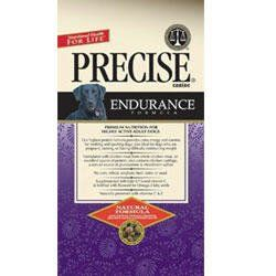 """$58.09-$122.40 Precise Endurance Formula Dry Dog Food - Precise Endurance Formula Dry Dog Food is our 30% protein super stamina formula for dogs that need more energy to """"go the extra mile"""" or have difficulty maintaining weight. This formula contains 20% clarified chicken fat and is easily and quickly metabolized.Precise Endurance Formula Dry Dog Food contains top quality carbohydrates that are   ..."""