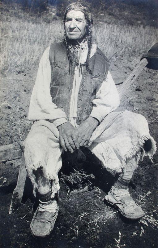 """Karel Plicka - 1928 """"Farmer from Madačka"""" - Slovakia"""