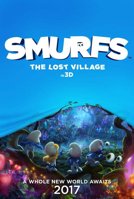 Smurfs: The Lost Village -  new movie!!! Coming out in spring 2017