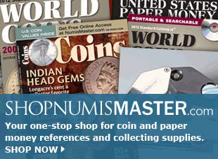 Numismatic Coin Values, Worth, Pricing & News for Collectors | NumisMaster.  This is one of the websites I sell advertising for.