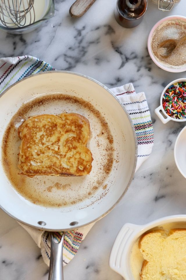 French Toast for One or Two - A delicious recipe for french toast that only makes one to two servings, so no leftovers!