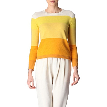 STELLA MCCARTNEY Striped jumper (Yellow