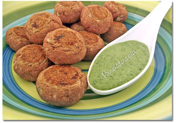 Bolinho de Atum Assado: Petisco Light