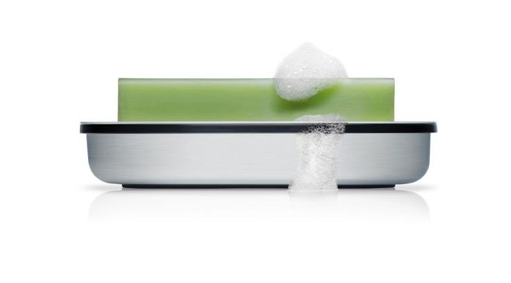 Mydelniczka matowa AREO - Blomus - DECO Salon #soap dish #bathroom #bathroomaccessories
