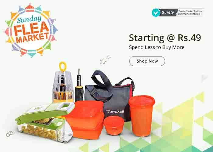 Shopclues.Com, The Online Shopping Website is known for Exceptional Discounts on products across categories. The E-commerce start-up is fulfilling the aspirations of Indian consumers with a unique range of products and irresistible offers. Shopclues.Com deals and Offers include Sunday Flea Market, Wednesday Super Saver Bazaar and many more selling items at low prices.