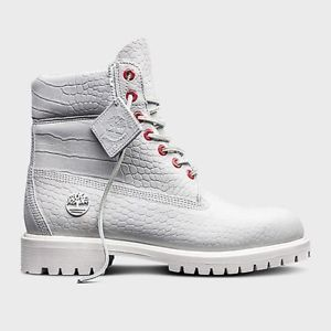 Timberland 6 Inch Boot White Serpent LIMITED RELEASE A1P9Q100 Size 8-13