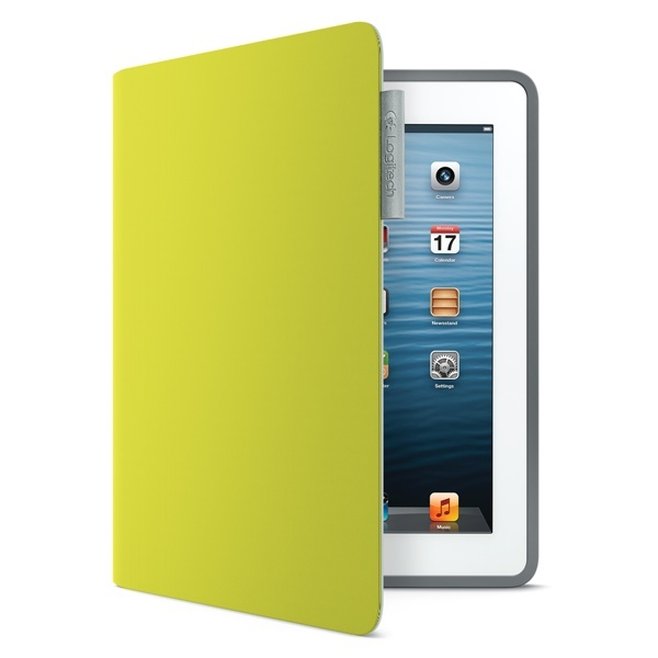 Repin and then click on the image to enter for a chance to win the Logitech Folio in Acid Yellow.