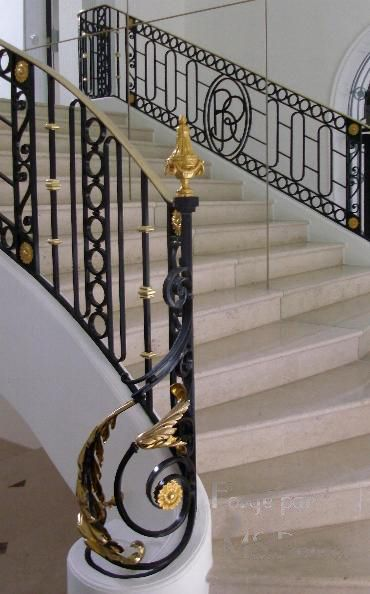Häufig 24 best escalier marbre images on Pinterest | Catalog, Wrought  NZ97