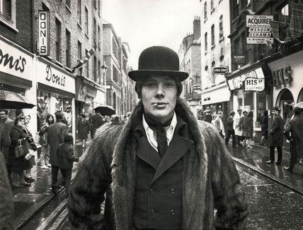 MOD gentleman on Carnaby Street, London