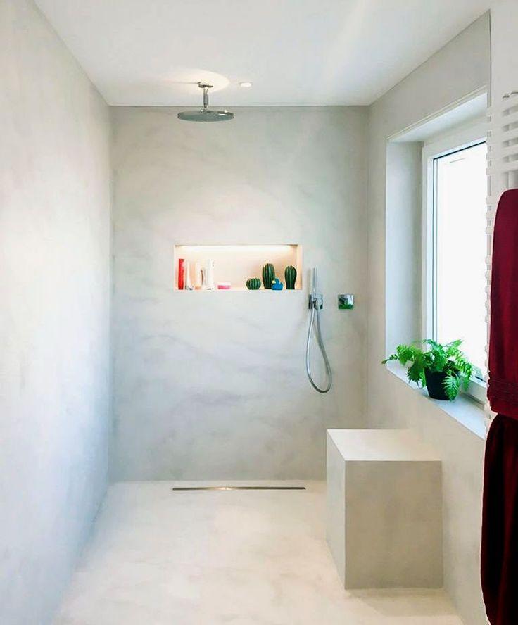 Badgestaltung Fliesen Beispiele Wohndesign: 74 Besten Fugenlose Bäder, Badgestaltung, Badideen Bilder