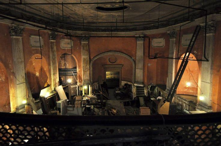 The Secret Symphonic Stage Forgotten 40 feet below a Local Piano Shop