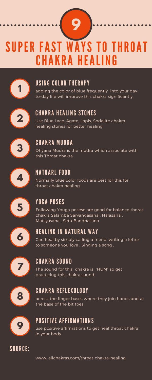 9 best throat chakra healing methods #throatchakra #chakrahealing