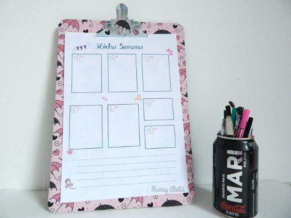 planner organizar