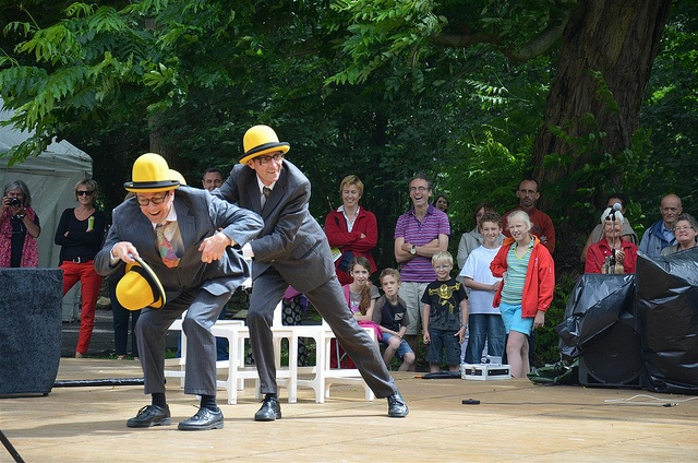 Wall Street Theatre, Zomer op straat, juli 2012, Oude Abdij Kortenberg
