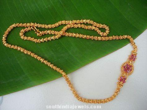 Imitation chains with side mogappu