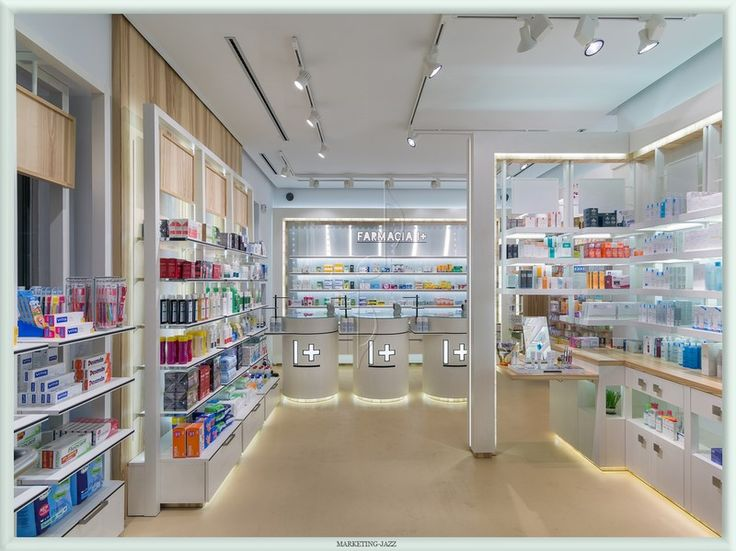 Under lighting at pharmacy | City Lighting Products | Commercial Lighting | www.facebook.com/CityLightingProducts