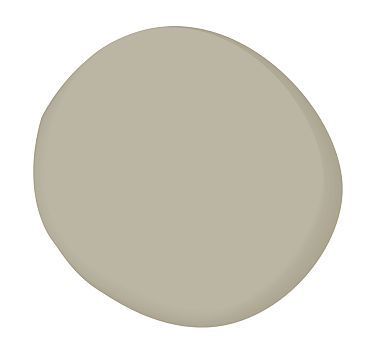 Sandy Hook Gray (BM) - It's got a beige undertone to it (and looks more beige even though the name has gray in it).  Almost looks like a beige which would go nicely with wood floors and complements Revere Pewter well.