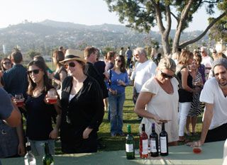 Summer Friday Night Wine Tastings @ Barnsdall Art Park {$25 tickets for tasting of 4 wines and a free glass from Silverlake Wine.  $35 to include a tour of Hollyhock House constructed by Frank Llyod Wright.  Pack a picnic or pick up something from the food trucks on the hill.}