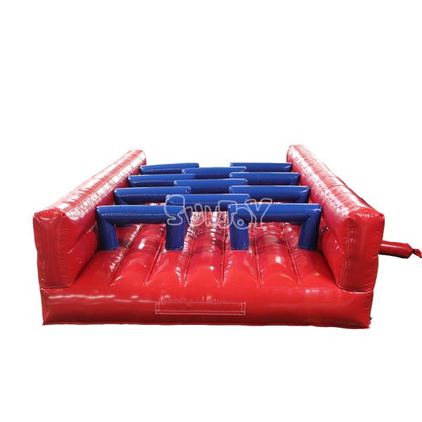 Arches Crawling Challenge Inflatable Obstacle Course Module For Sale