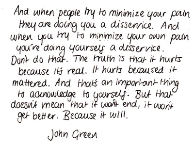 Looking for Alaska-John Green...read it. it will change you