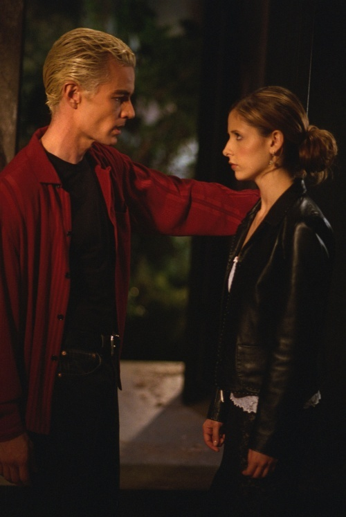 Spike & Buffy... James Masters popped up in PS I Live You and it reminded me of how much I adore him and especially Spike