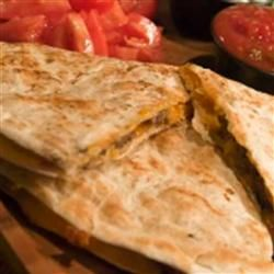 "Roast Beef Quarterback Quesadillas Recipe  Recipe by Hot Dog Sausage Council   ""Use your leftovers to create a delicious meal or use it as an appetizer"""