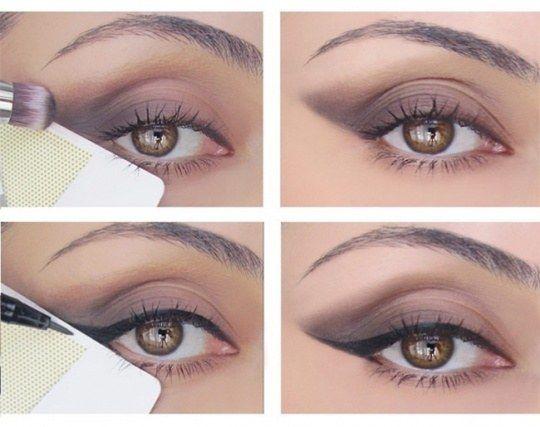 Utilisez une carte de crédit pour faire un parfait trait d'eye liner. | 32 astuces beauté qui sauveront toutes les personnes paresseuses