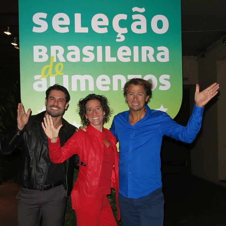 Rafito Andrade, Anouk Pappers and Maarten Schäfer CoolBrands Brazil during the Launch Event of the SBA2014
