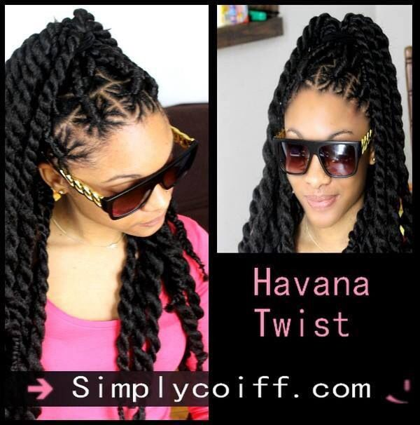 I'd like to try this parting design with my hair. Havana twist ,Marley twist