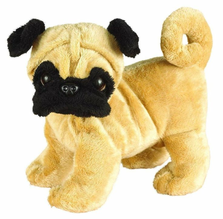 Ganz Webkinz HM105 Pug Dog Plush Stuffed Animal #Webkinz