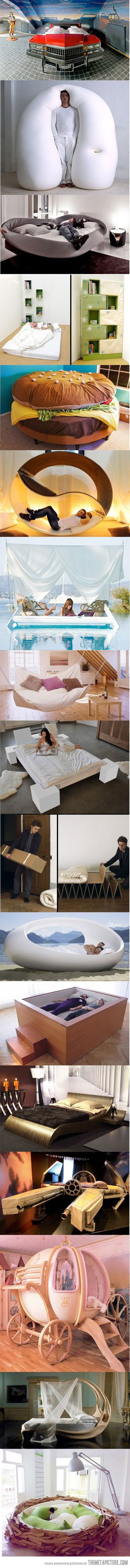 funny cool creative beds. awwweesome