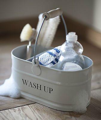 WASH UP TIDY STORAGE BUCKET – THE HOUSE JAR