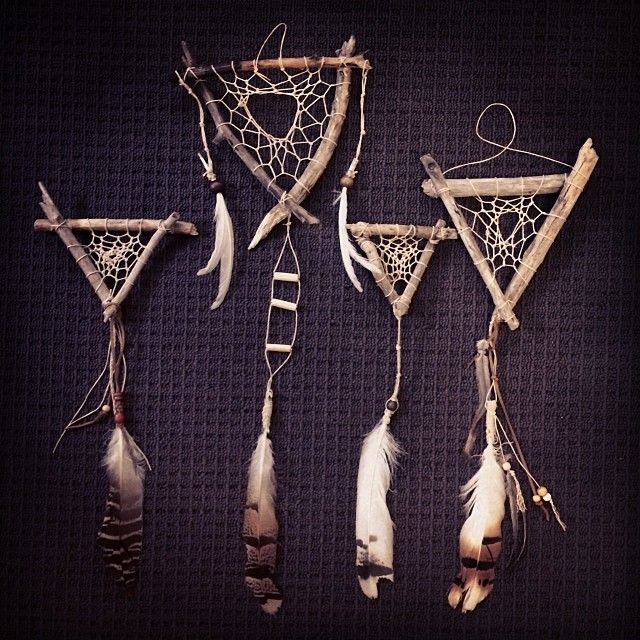 Dreamcatcher Collection :: triangles :: rustic :: bohemian :: home décor :: inspiration @aumandamen