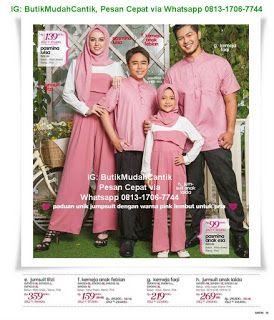 Butik Baju Muslim Terbaru 2018  Gamis Sarimbit Keluarga  417b5d60ec