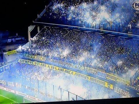 ¡LA HINCHADA DE BOCA! Hermoso recibimiento<3 #Boca vs #River.LA HINCHADA ,SI,LOS INADAPTADOS NO!!!!!