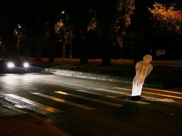 Shell: Pedestrian ghost