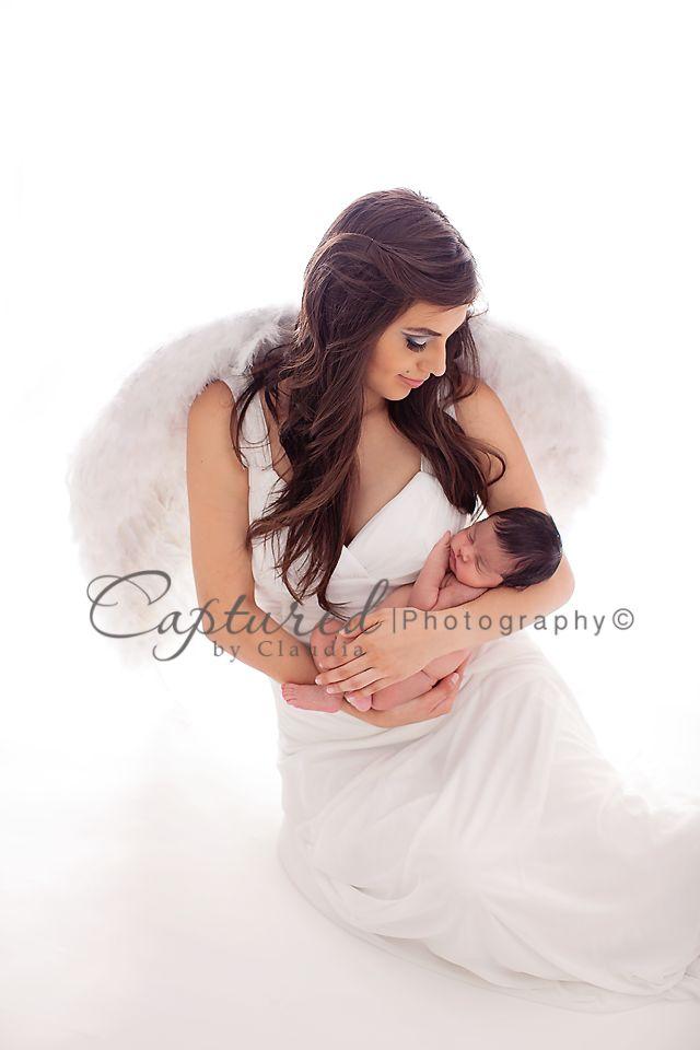 A Child's Angel | Laredo texas Newborn Photographer Captured By Claudia Photography