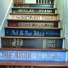 Stairs of Authors.