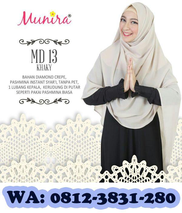 Segera miliki koleksi terbaru jilbab munira syar'i dari filaika.com filaika.com adalah toko online pusat busana muslim terbaru. Selain jilbab munira filaika.com juga menyediakan koleksi busana muslim lainnya seperti busana muslim Qirani, Nibras, Mutif, Ukhti, dan Dhikr.  Cek Stock: Info model, warna & size ke tim CS nomor dibawah ini. SMS/WhatsApp : 08123831280 PinBB: 5F03DE1D