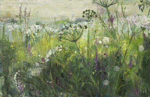 Field Edge, Late Afternoon..Ann Oram